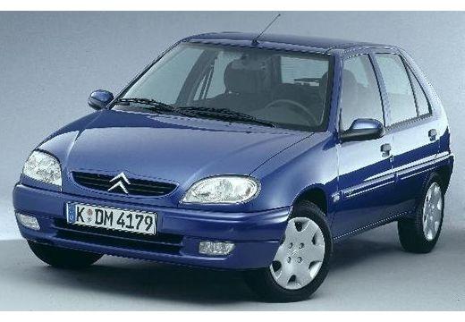 CITROEN Saxo II hatchback niebieski jasny przedni lewy