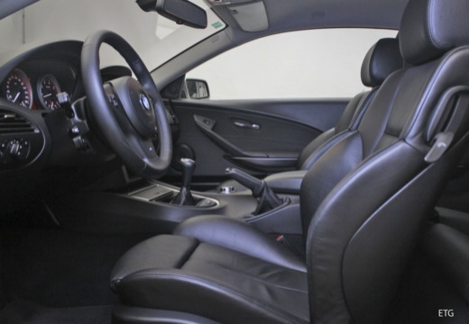 BMW Seria 6 E63 II coupe wnętrze