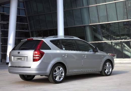 KIA Ceed Sporty Wagon I kombi silver grey tylny prawy