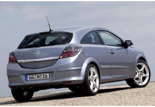 OPEL Astra III GTC I hatchback szary ciemny tylny prawy