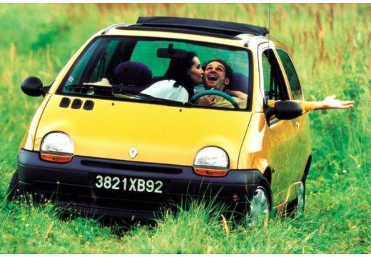 RENAULT Twingo I hatchback żółty tylny lewy