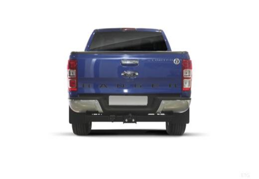 FORD Ranger pickup niebieski jasny tylny