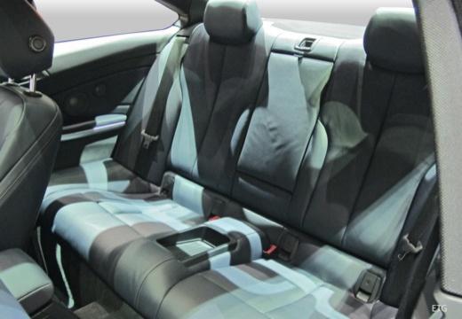 BMW Seria 4 coupe wnętrze