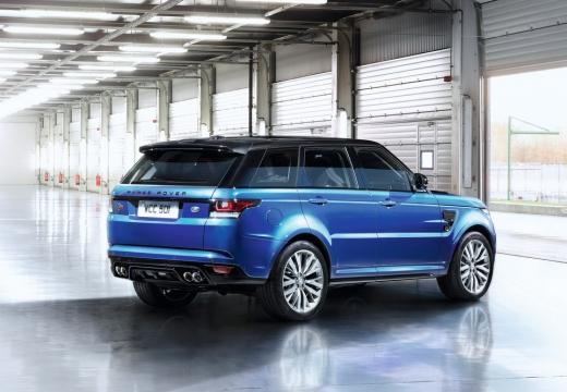LAND ROVER Range Rover Sport IV kombi niebieski jasny tylny prawy