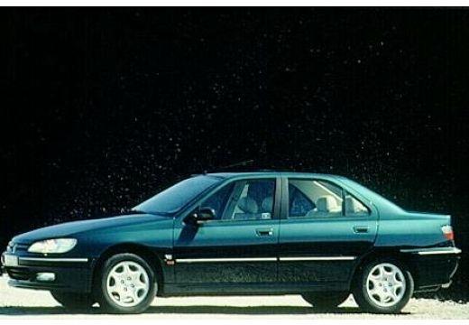 PEUGEOT 406 II sedan zielony boczny lewy