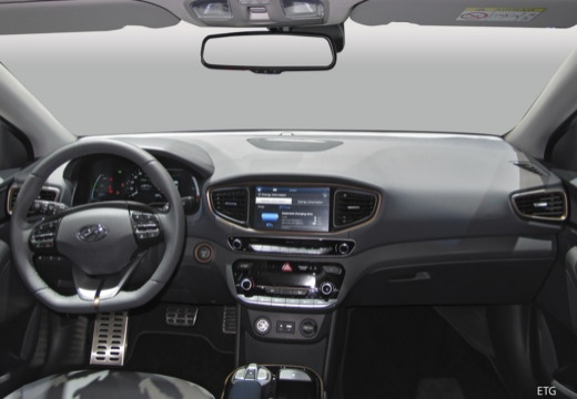 HYUNDAI Ioniq hatchback tablica rozdzielcza