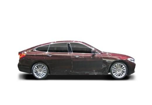 BMW Seria 6 hatchback boczny prawy