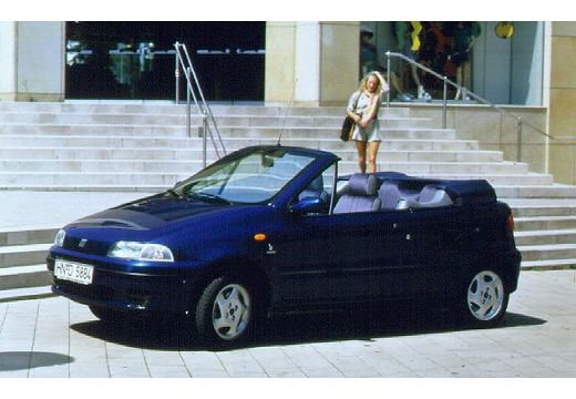 fiat punto 1 2 s kabriolet cabriolet 1 3 60km 1995. Black Bedroom Furniture Sets. Home Design Ideas