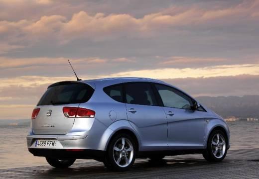 SEAT Altea XL I hatchback silver grey tylny prawy