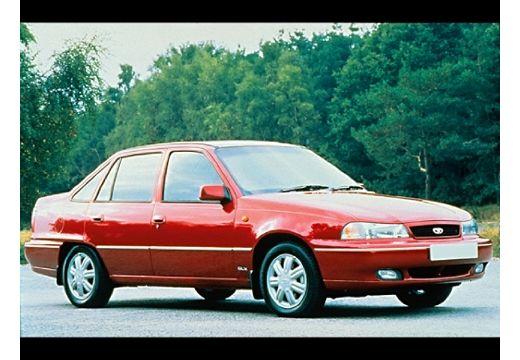 DAEWOO / FSO Nexia sedan czerwony jasny przedni prawy