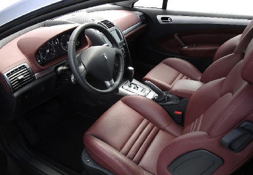 Peugeot 407 coupe for Interieur 407