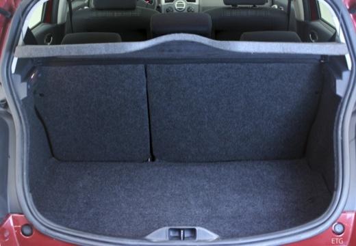 RENAULT Megane II II hatchback przestrzeń załadunkowa