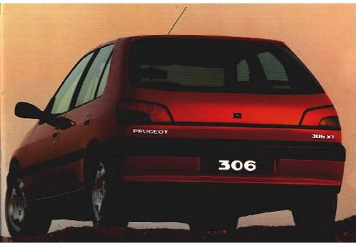 PEUGEOT 306 1.9 D Saint Tropez Hatchback I 71KM (diesel)