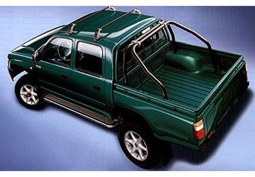 Toyota HiLux I pickup zielony tylny lewy