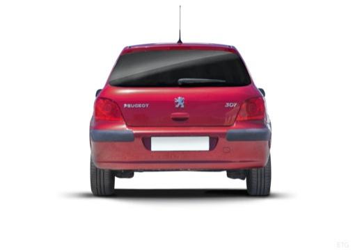PEUGEOT 307 II hatchback tylny