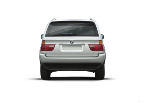 BMW X5 X 5 E53 I kombi silver grey tylny