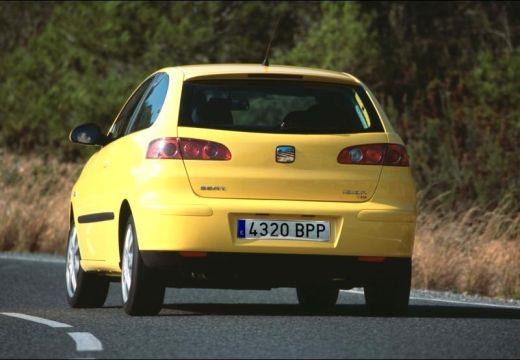 SEAT Ibiza IV hatchback żółty tylny lewy