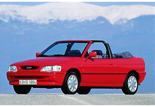 FORD Escort 1.6 CLX Kabriolet Cabriolet III 90KM (benzyna)