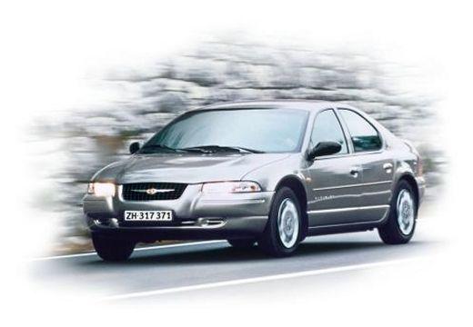 DODGE Stratus I sedan silver grey przedni lewy