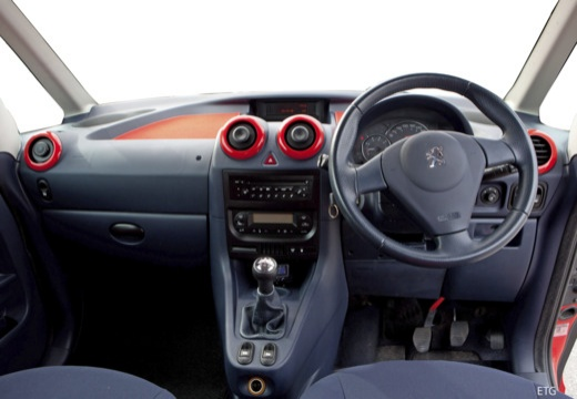 PEUGEOT 1007 hatchback tablica rozdzielcza