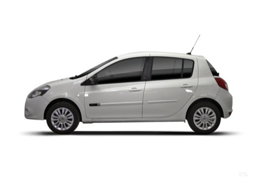 RENAULT Clio III II hatchback biały boczny lewy