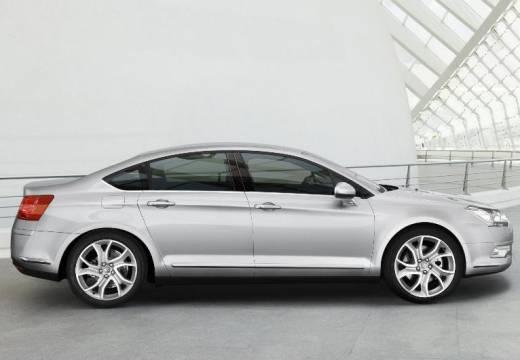 CITROEN C5 III sedan silver grey boczny prawy