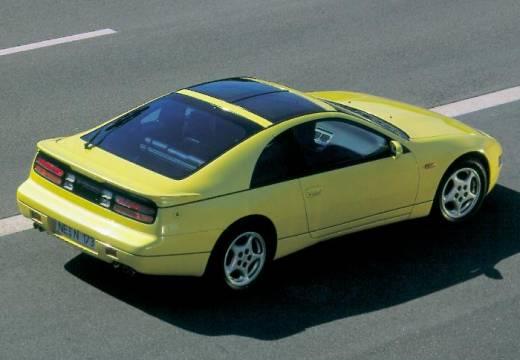 NISSAN 300 ZX targa żółty tylny prawy