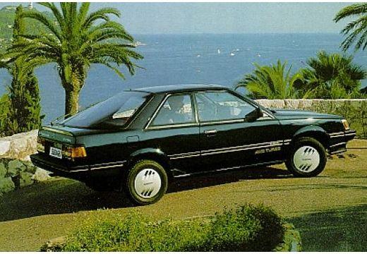 SUBARU 1800 coupe czarny tylny prawy