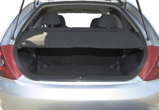 HONDA Civic IV hatchback przestrzeń załadunkowa