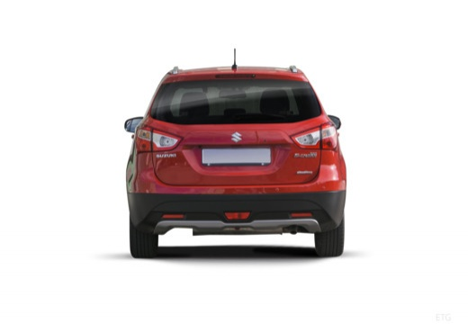 SUZUKI SX4 S-cross I hatchback czerwony jasny tylny