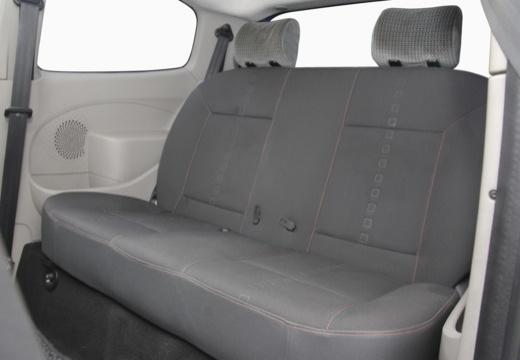 RENAULT Twingo hatchback niebieski jasny wnętrze