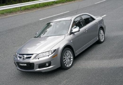 MAZDA 6 II sedan silver grey przedni lewy