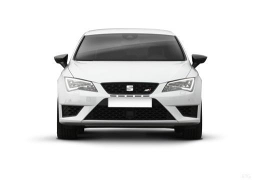 SEAT Leon IV hatchback biały przedni