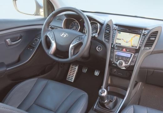 HYUNDAI i30 III hatchback tablica rozdzielcza