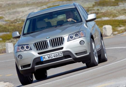 BMW X3 X 3 F25 I kombi silver grey przedni lewy