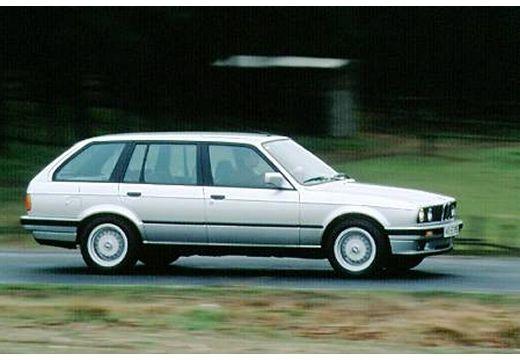 BMW Seria 3 kombi silver grey przedni prawy