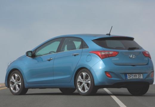 HYUNDAI i30 III hatchback niebieski jasny tylny lewy