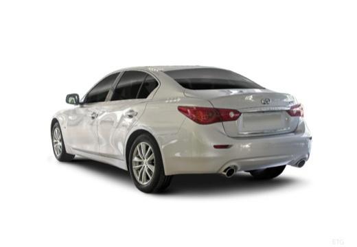 INFINITI Q50 I sedan biały tylny lewy