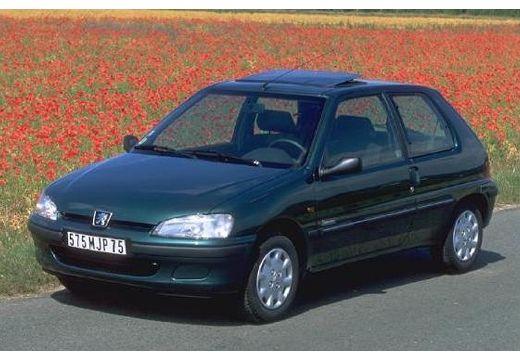 PEUGEOT 106 II hatchback zielony przedni lewy