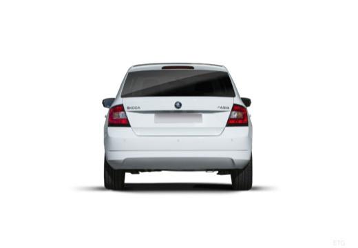 SKODA Fabia III I hatchback tylny