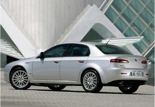 ALFA ROMEO 159 I sedan silver grey tylny lewy