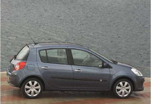 RENAULT Clio III I hatchback szary ciemny boczny prawy