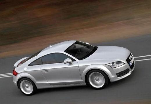 AUDI TT I coupe silver grey boczny prawy