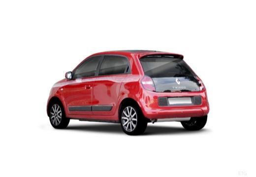 RENAULT Twingo hatchback czerwony jasny tylny lewy