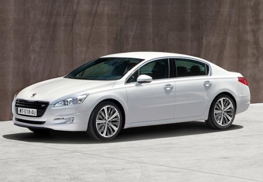 PEUGEOT 508 sedan biały przedni lewy