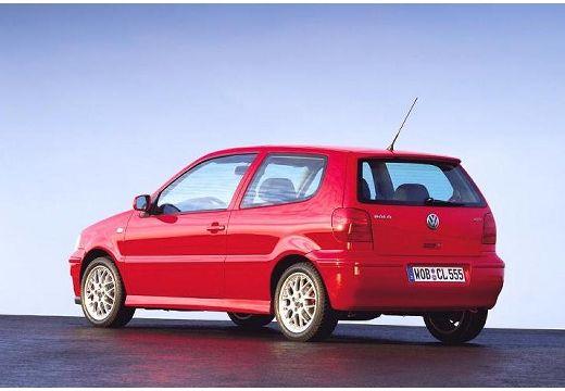 VOLKSWAGEN Polo III II hatchback czerwony jasny tylny lewy