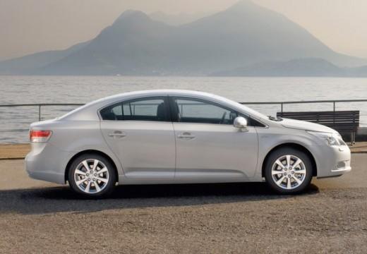 Toyota Avensis V sedan silver grey boczny prawy