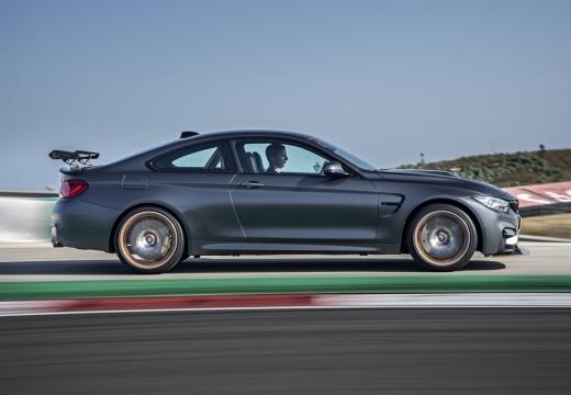 BMW Seria 4 F32 coupe szary ciemny boczny prawy