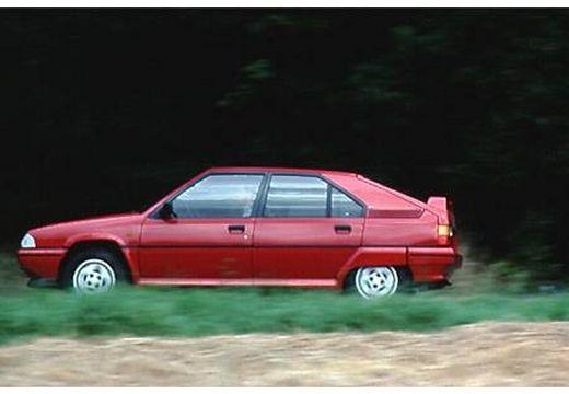 CITROEN BX I hatchback czerwony jasny boczny lewy