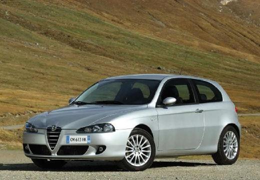 ALFA ROMEO 147 hatchback silver grey przedni lewy